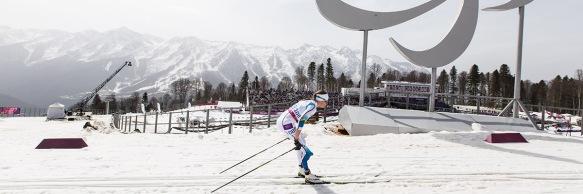 Guld av Helen Ripa i Paralympics på 15km