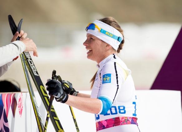 Paralympics 2014, 15 km klassiskt damer